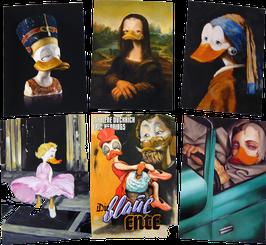 Postkartenset mit 6 Karten / Set #26