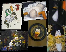 Postkartenset mit 6 Karten / Set #28
