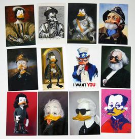 Postkartenset mit 12 Karten / Set #5