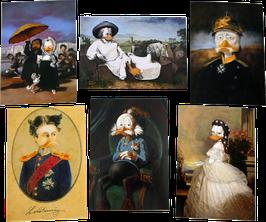 Postkartenset mit 6 Karten / Set #24