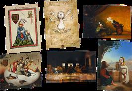 Postkartenset mit 6 Karten / Set #19
