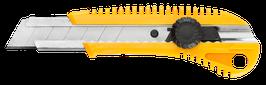 Cutter renforce 25mm, lame cassable