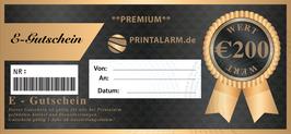 Premium Gutschein 200