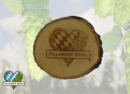 Holzuntersetzer Pillmeier Bräu