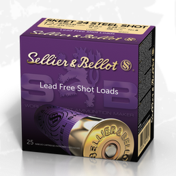 Sellier & Bellot 12/67.5 SKEET 24 STEEL SHOT 2.29mm