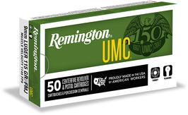 Remington UMC FMJ Faustfeuer