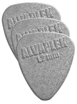 Alvaplek Tropfenform Plektrum 1,2mm Dicke