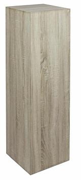 Deko-Säule Holz, Eiche weiß geräuchert