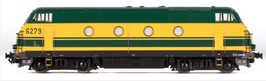 Diesellok NMBS 6279 Depot Hasselt