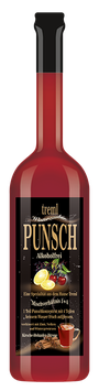 Kirsche-Zitrone-Holunder Punsch 0,7 Liter