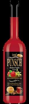 Himbeere-Vanille Punsch ohne Zuckerzusatz, 0,7 Liter