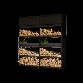 OFYR - Wood Storage Black WSB-200