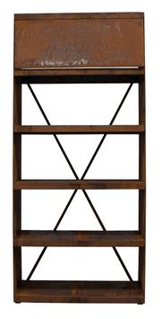 OFYR - Wood Storage Corten WS-100