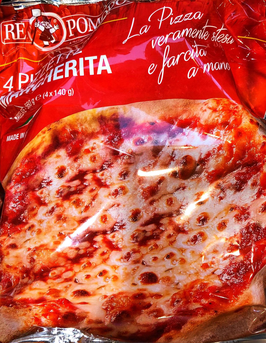 Pizzetta Margherita 560gr (4x 140gr)