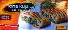 Torta rustica con carciofi - 300gr