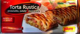 Torta Rustica prosciutto, patate e mozzarella - 300gr