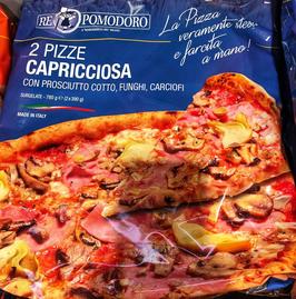 2 Pizza Capricciosa -780gr ( 2 x 390gr)