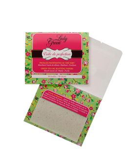 Lady green oil absorbing sheets