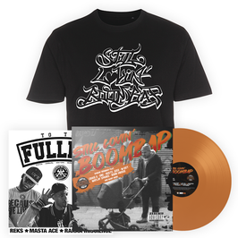 """STILL LOVIN' BOOMBAP TO THE FULLEST"" BIG BUNDLE ORANGE"