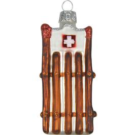 Christbaumschmuck Schlitten