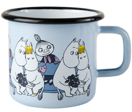 "Tasse 3.7 dl ""Moomin&Snorkmaiden&Mymble"" D171 30 37 02"