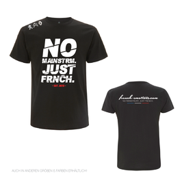 FE OFFICIAL Shirt - V2 CUTTED / BLACK.WHITE