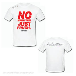 FE OFFICIAL Shirt - V2 CUTTED / WHITE.RED