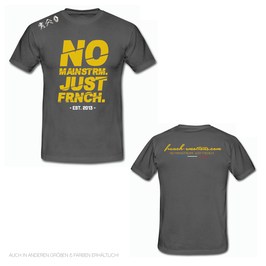 FE OFFICIAL Shirt - V2 CUTTED / GREY.GOLD