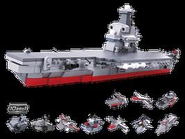Sluban Army Flugzeugträger 10 in 1 plus Sluban Zerstörer