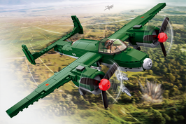 Sluban Alliierter Bomber plus Deutsches Jagdflugzeug plus Spitfire (Special Edition)