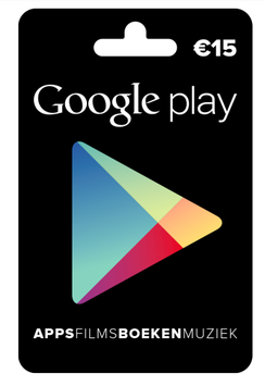 Google Play tegoed €15