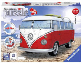 Puzzel Volkswagen bus 3d: 162 stukjes