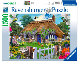 Puzzel Cottage in Engeland: 1500 stukjes