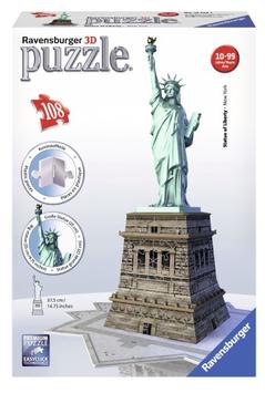 Puzzel Statue of Liberty 3d: 108 stukjes