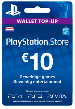 Playstation tegoed €10