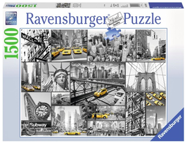Puzzel New York: 1500 stukjes