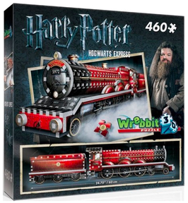 Puzzel Wrebbit: Harry Potter Express 3d: 460 stukjes