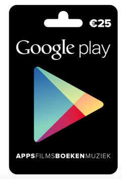 Google Play tegoed €25