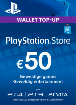 Playstation tegoed €50