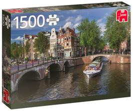 Puzzel Amsterdam Herengracht: 1500 stukjes