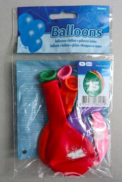 Ballonnen leeftijd '25', 8x 30 cm