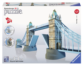 Puzzel Tower Bridge 3d: 324 stukjes