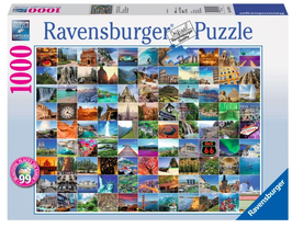 Puzzel 99 mooie plekken op aarde: 1000 stukjes