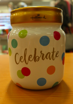 Spaarpot Thema: 'Celebrate'