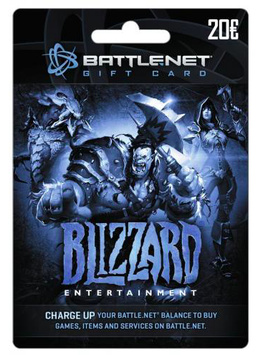Battle.net Blizzard Entertainment €20