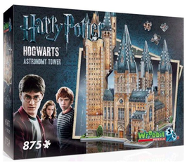 Puzzel Wrebbit Harry Potter Tower 3d: 875 stukjes
