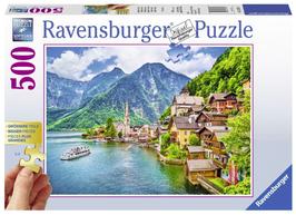 Puzzel Hallstatt Oostenrijk: 500 stukjes