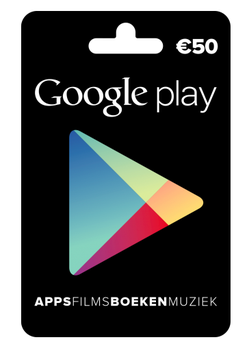 Google Play tegoed €50