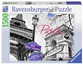 Puzzel Paris mon amour: 1500 stukjes