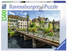 Puzzel Summery Strassbourg: 1500 stukjes